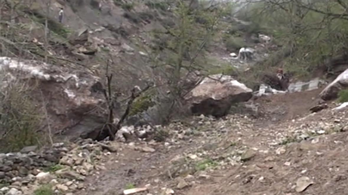 جزئیات سقوط سنگ در سوادکوه در اولین روز از عید نوروز