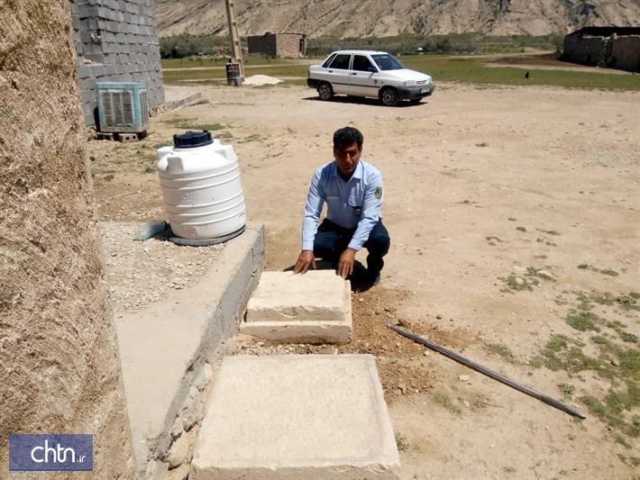 کشف و ضبط سرستون سنگی هخامنشی در بوشهر
