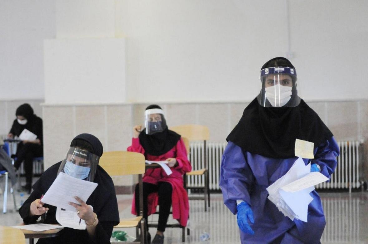 خبرنگاران رقابت 40 هزار داوطلب کنکور سراسری سال 99 در البرز آغاز شد