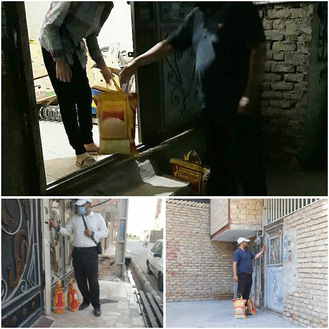 طرح حمایت از حاشیه نشینان آغاز شد ، توزیع بسته های حمایتی میان نیازمندان حاشیه تهران