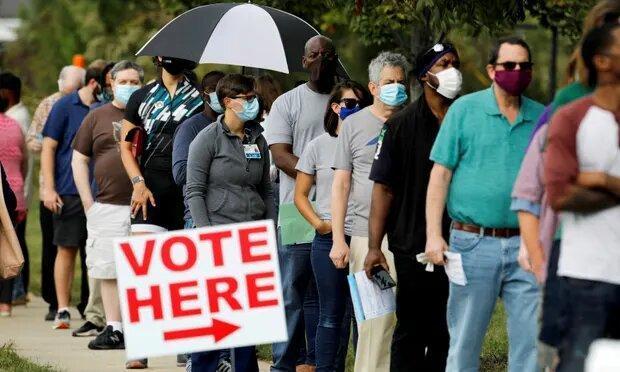 مشارکت 70 میلیون آمریکایی در رأی گیری زودهنگام