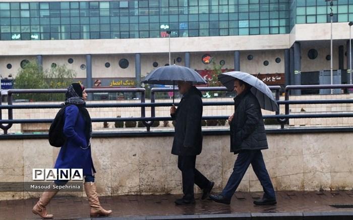 بارش ها در کشور ادامه دارد