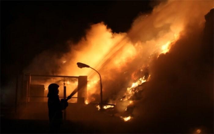 جانباختن یک نفر در پی انفجار سیلندرهای گاز در بلوار کرمان خودرو