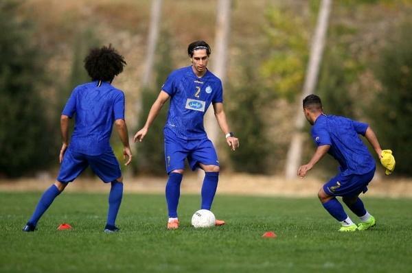 اولین بازی نادری با پیراهن زنده یاد پورحیدری