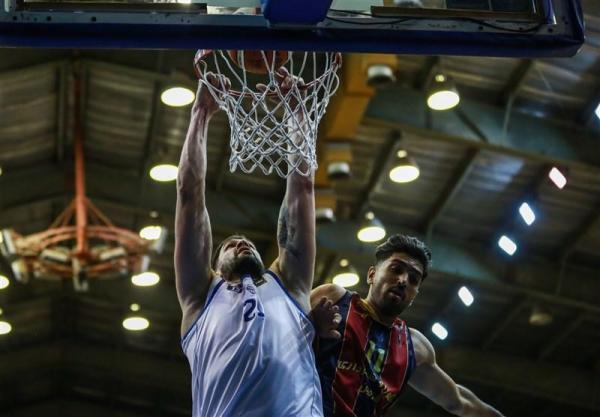 لیگ برتر بسکتبال، پیروزی آسان شهرداری قزوین مقابل پدافند مشهد