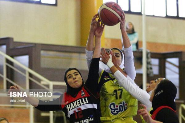 انتها دور برگشت لیگ برتر بسکتبال زنان