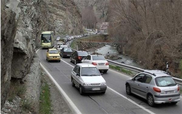 افزایش 22.8 درصدی تردد وسایل نقلیه در جاده ها